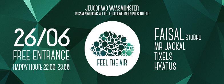 feel the air